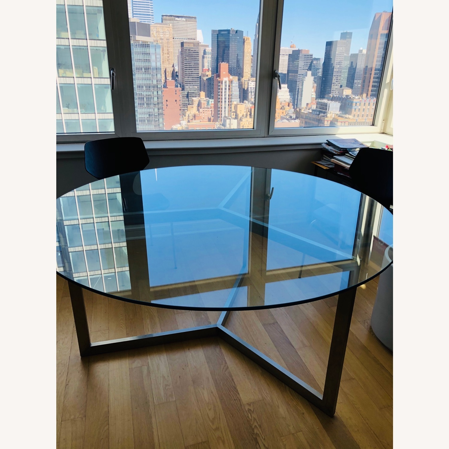 Room & Board Glass Dining Table - image-2