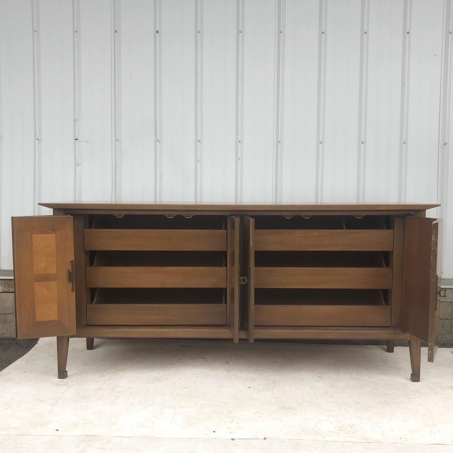 Mid-Century Bedroom Dresser by White Furniture - image-1