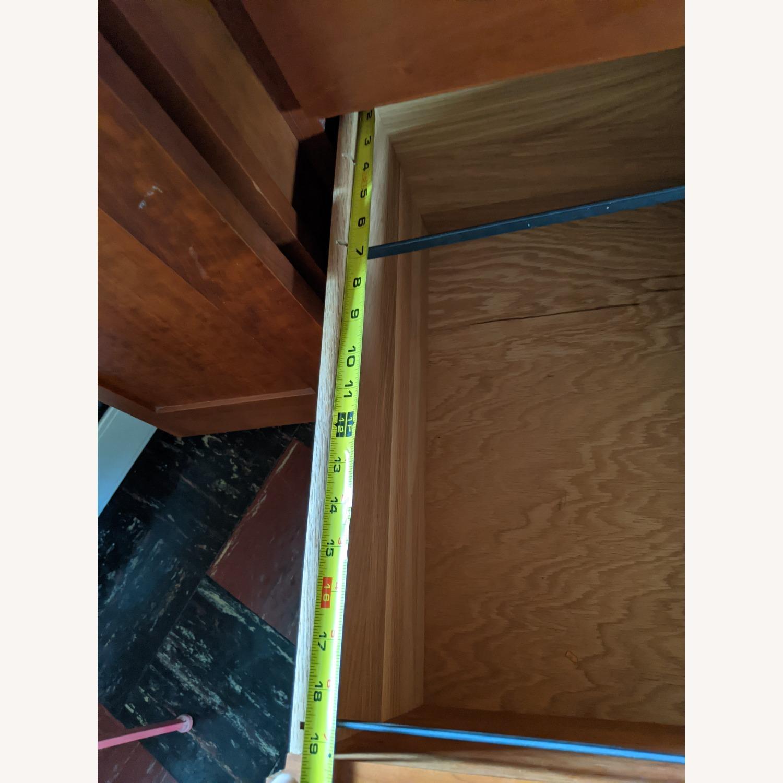 Stickley Oak Armoire Desk - image-11