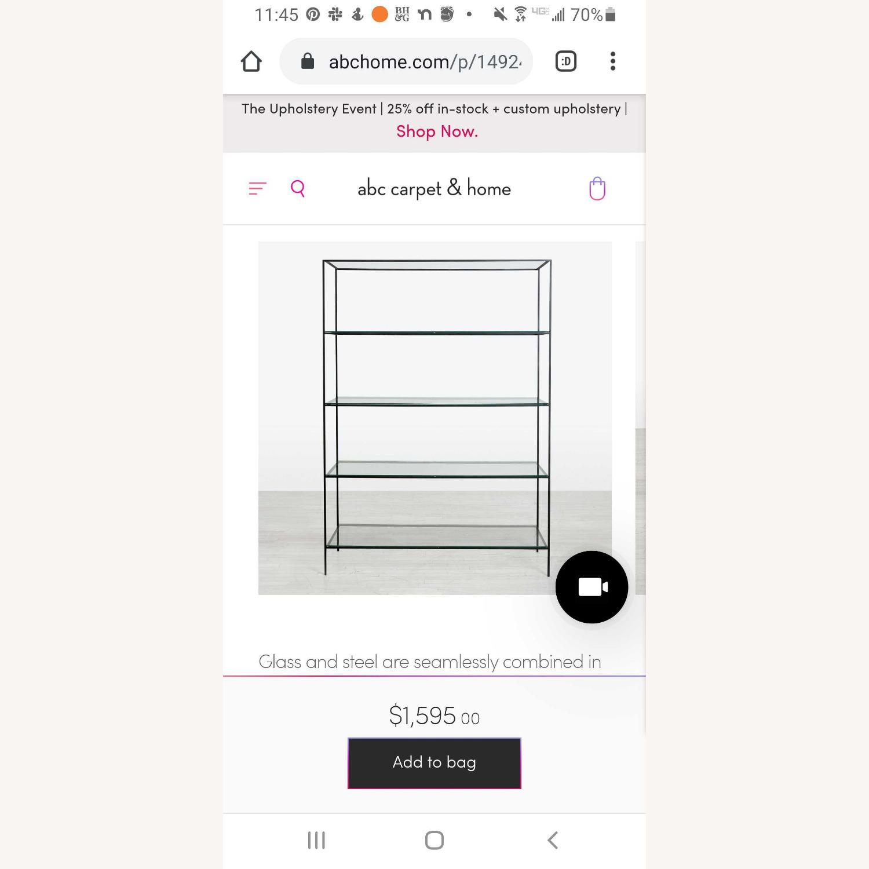 ABC Carpet & Home Synthesis 5 Tier Wide Bookshelf - image-1