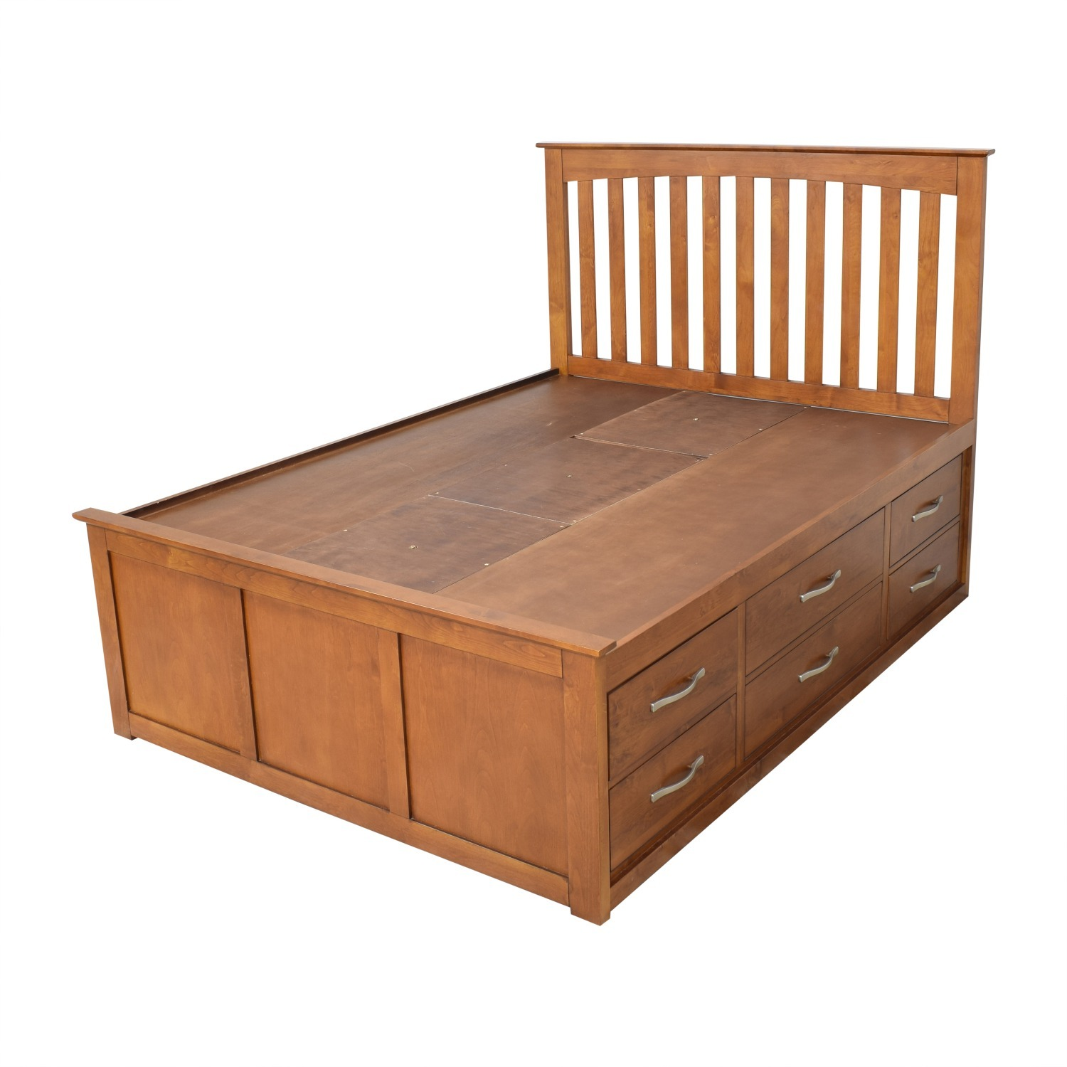 Raymour & Flanigan King Size Bed - image-0