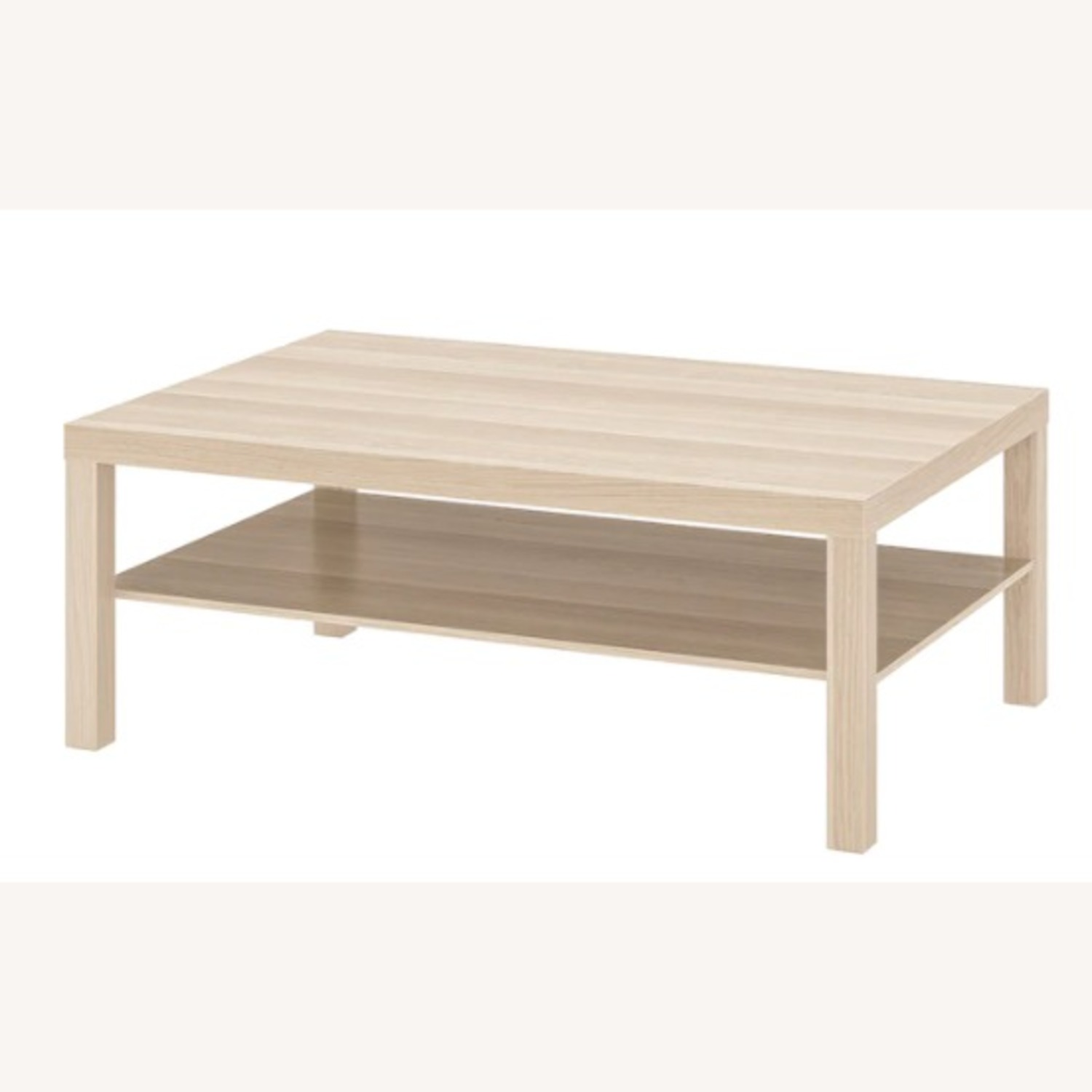 IKEA White Stained Oak Effect Lack Coffee Table - image-3