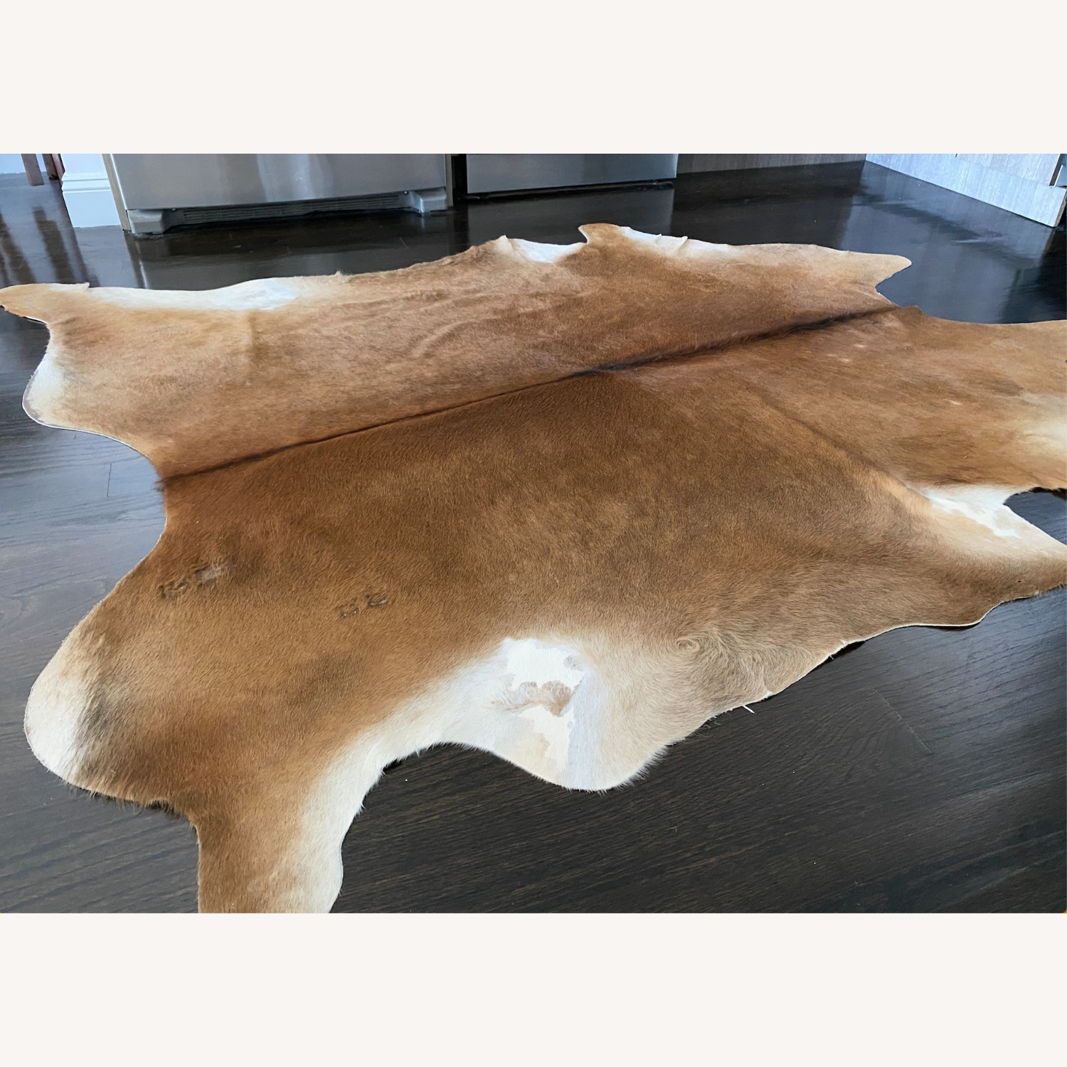 IKEA Naturally Durable Cowhide Rug - image-2