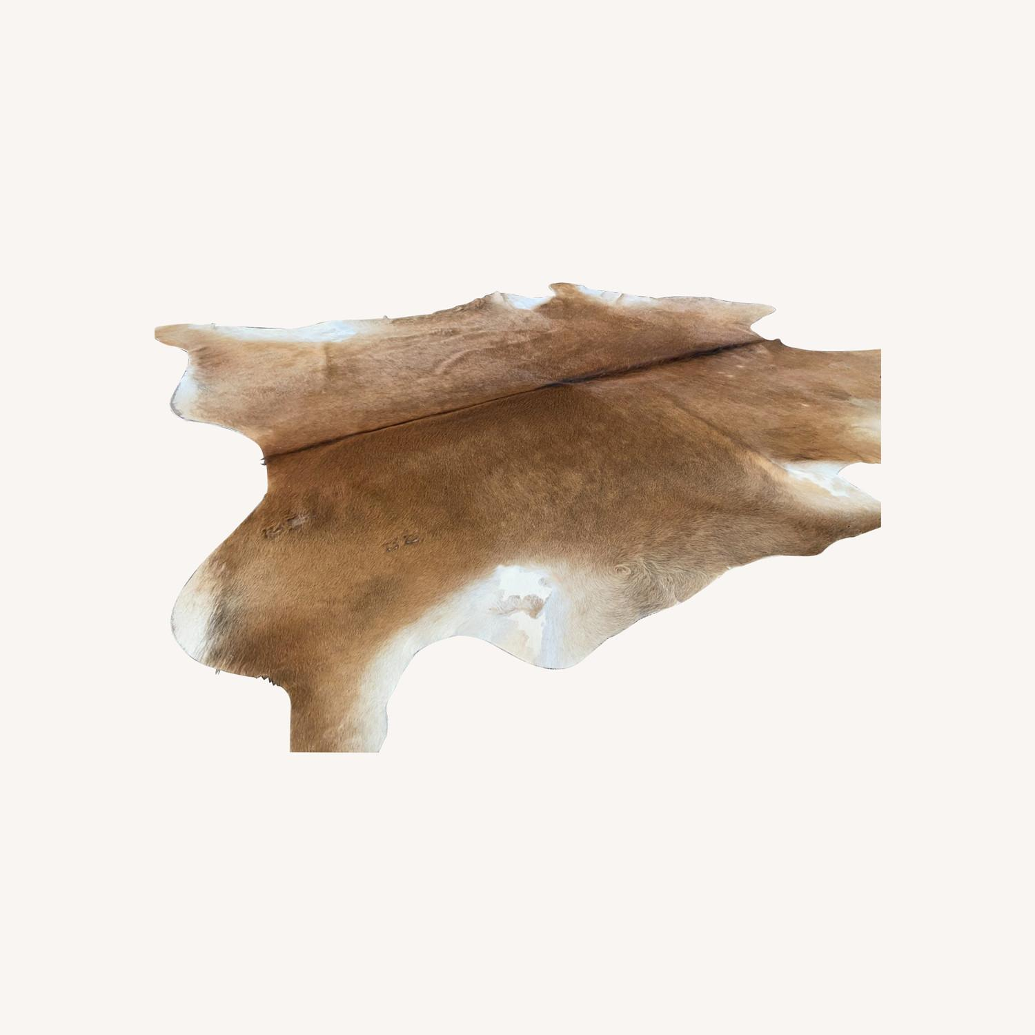 IKEA Naturally Durable Cowhide Rug - image-0