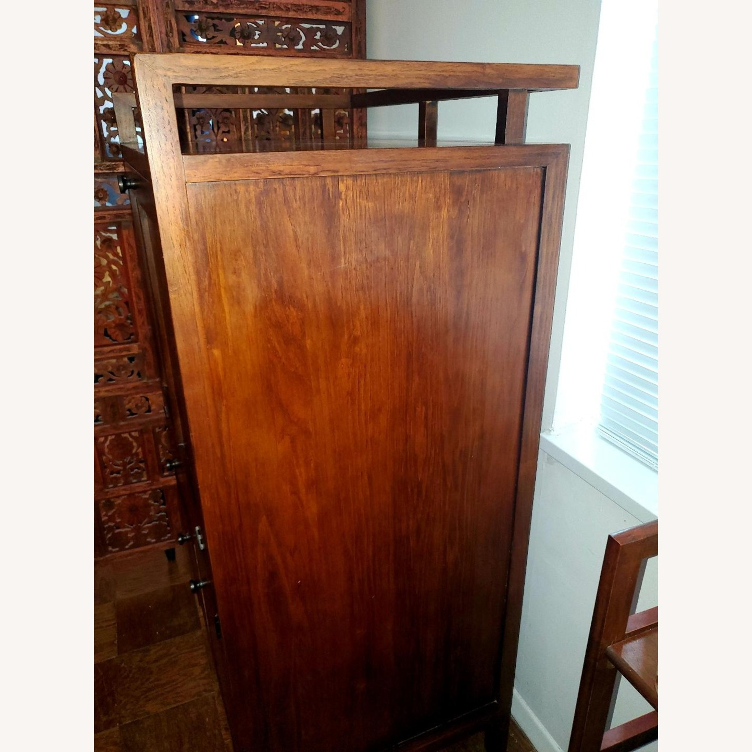 Crate and Barrel Desk Armoire - image-3