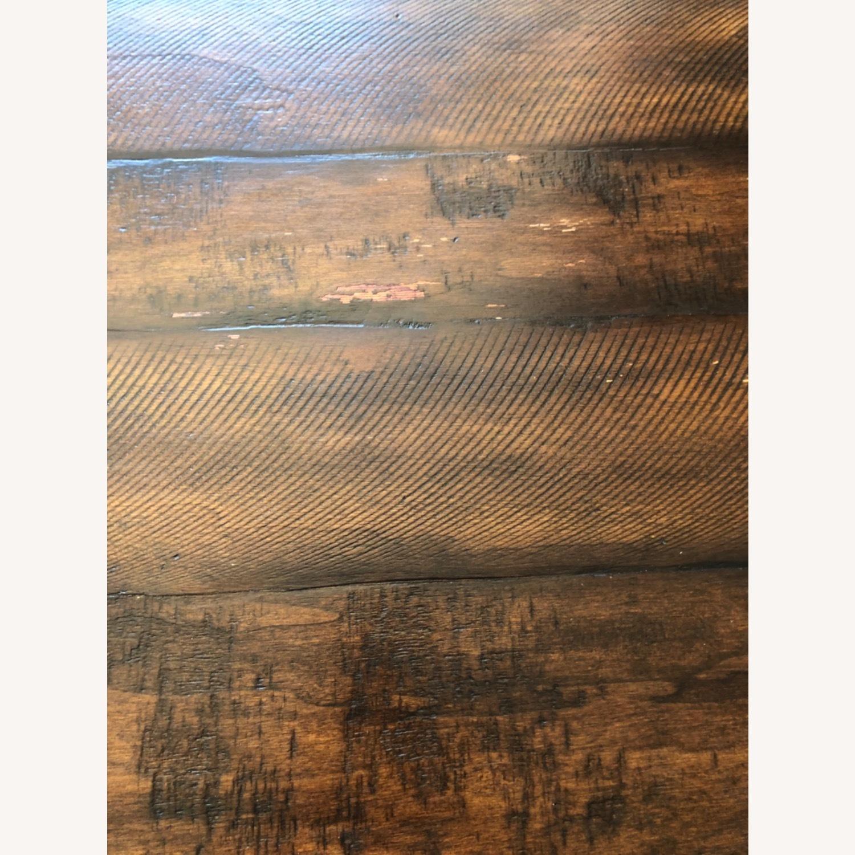 Pottery Barn Rustic Mahogany Sumner Extension Table - image-19