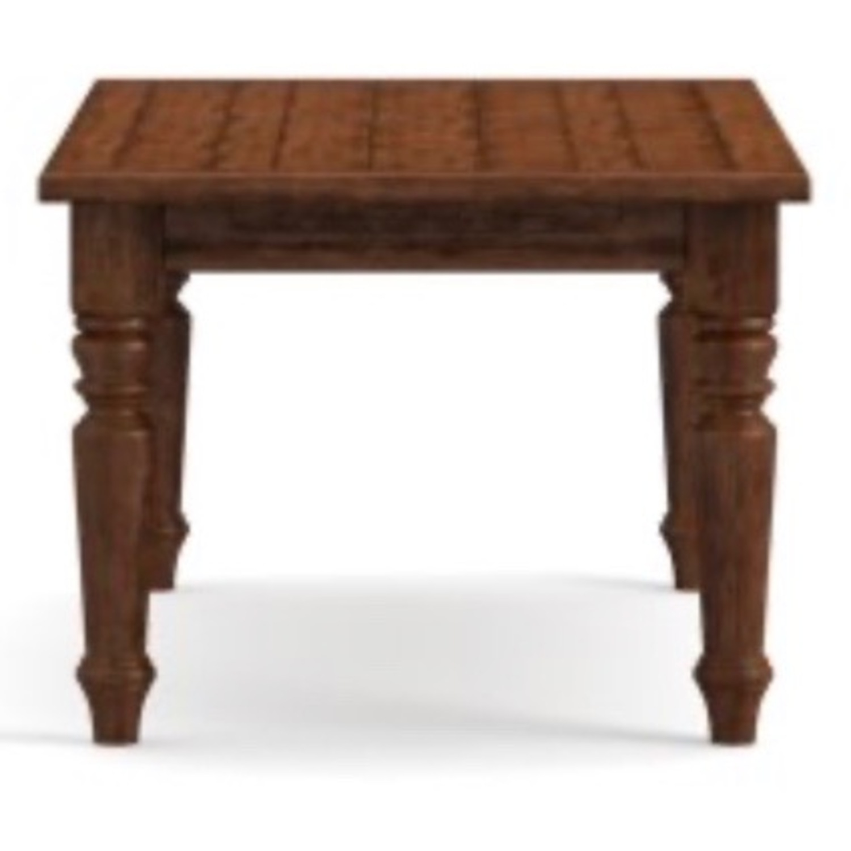 Pottery Barn Rustic Mahogany Sumner Extension Table - image-7