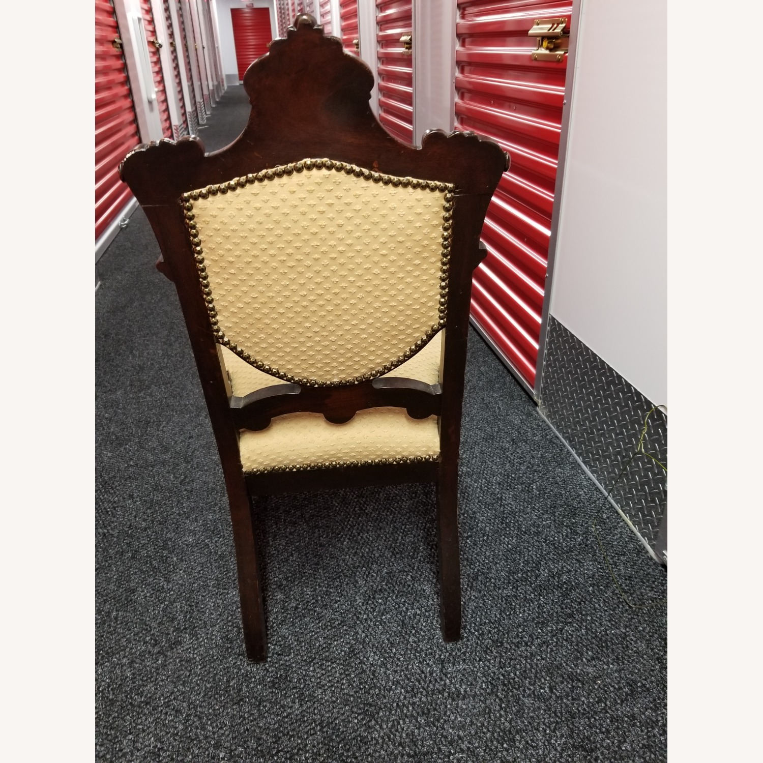 Antique Solid Cherry Chair - image-2