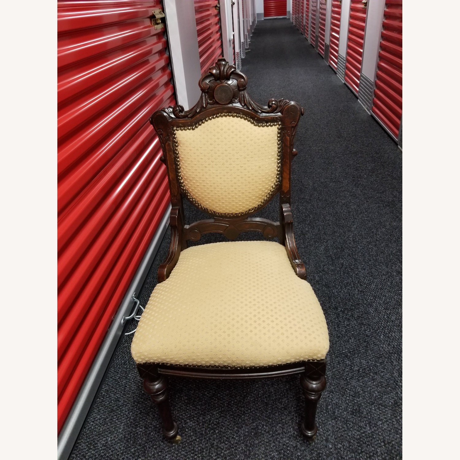 Antique Solid Cherry Chair - image-1