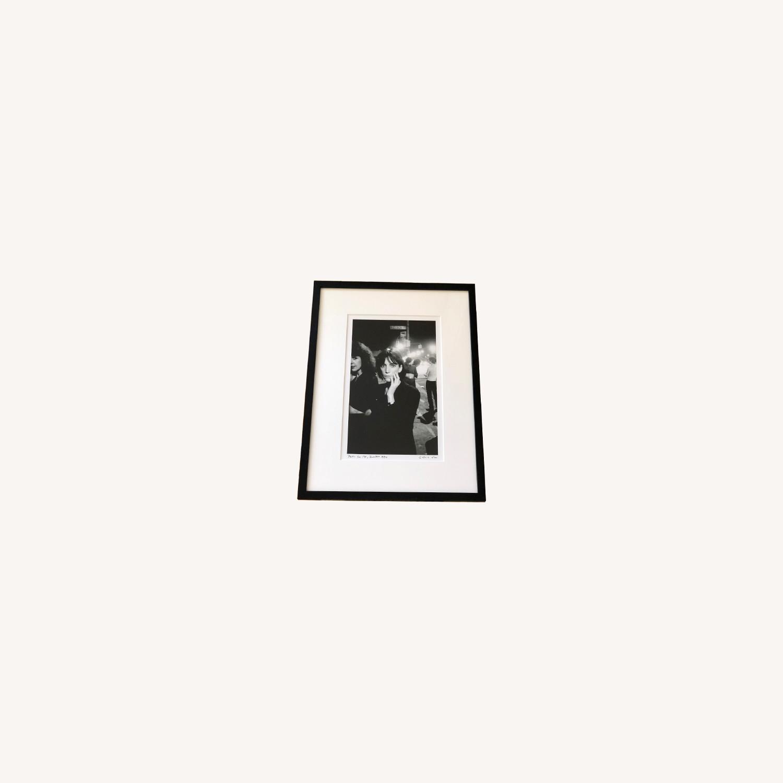 Patti Smith framed photograph SIGNED 6/100 rare - image-0
