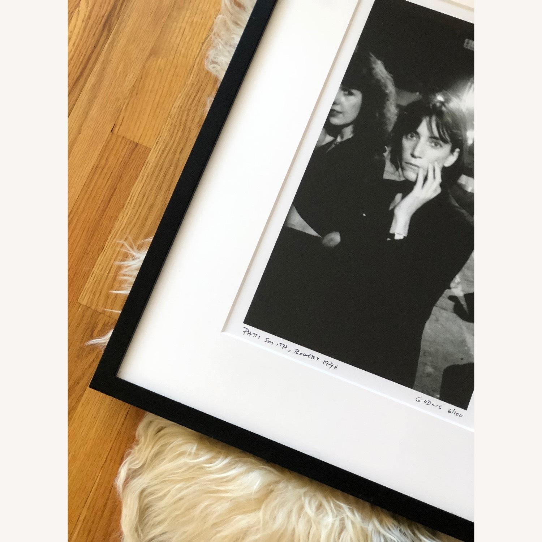Patti Smith framed photograph SIGNED 6/100 rare - image-4