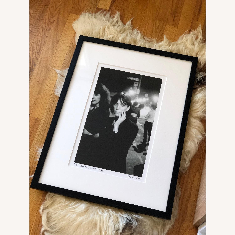 Patti Smith framed photograph SIGNED 6/100 rare - image-3