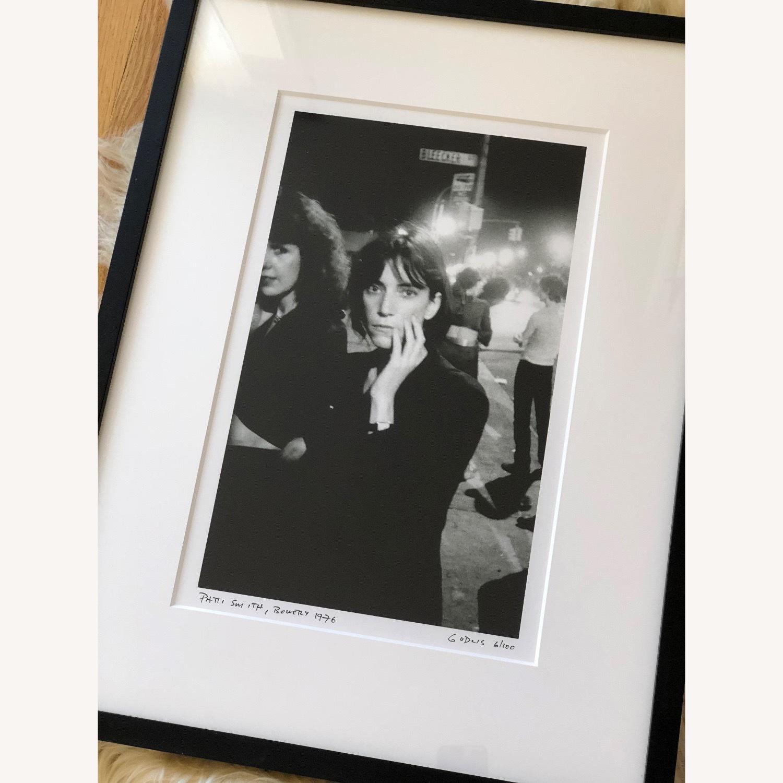 Patti Smith framed photograph SIGNED 6/100 rare - image-1