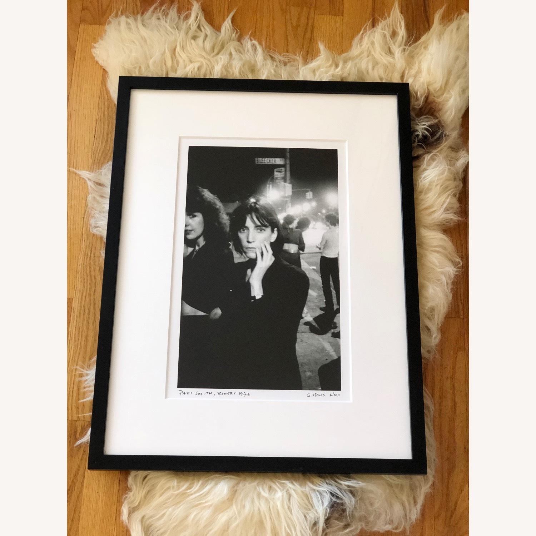 Patti Smith framed photograph SIGNED 6/100 rare - image-5