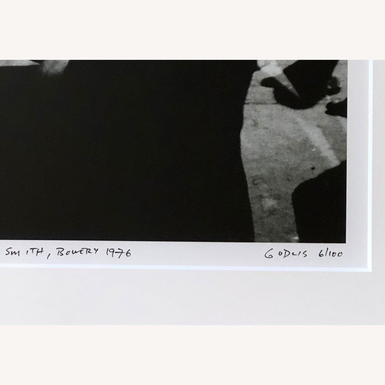 Patti Smith framed photograph SIGNED 6/100 rare - image-6