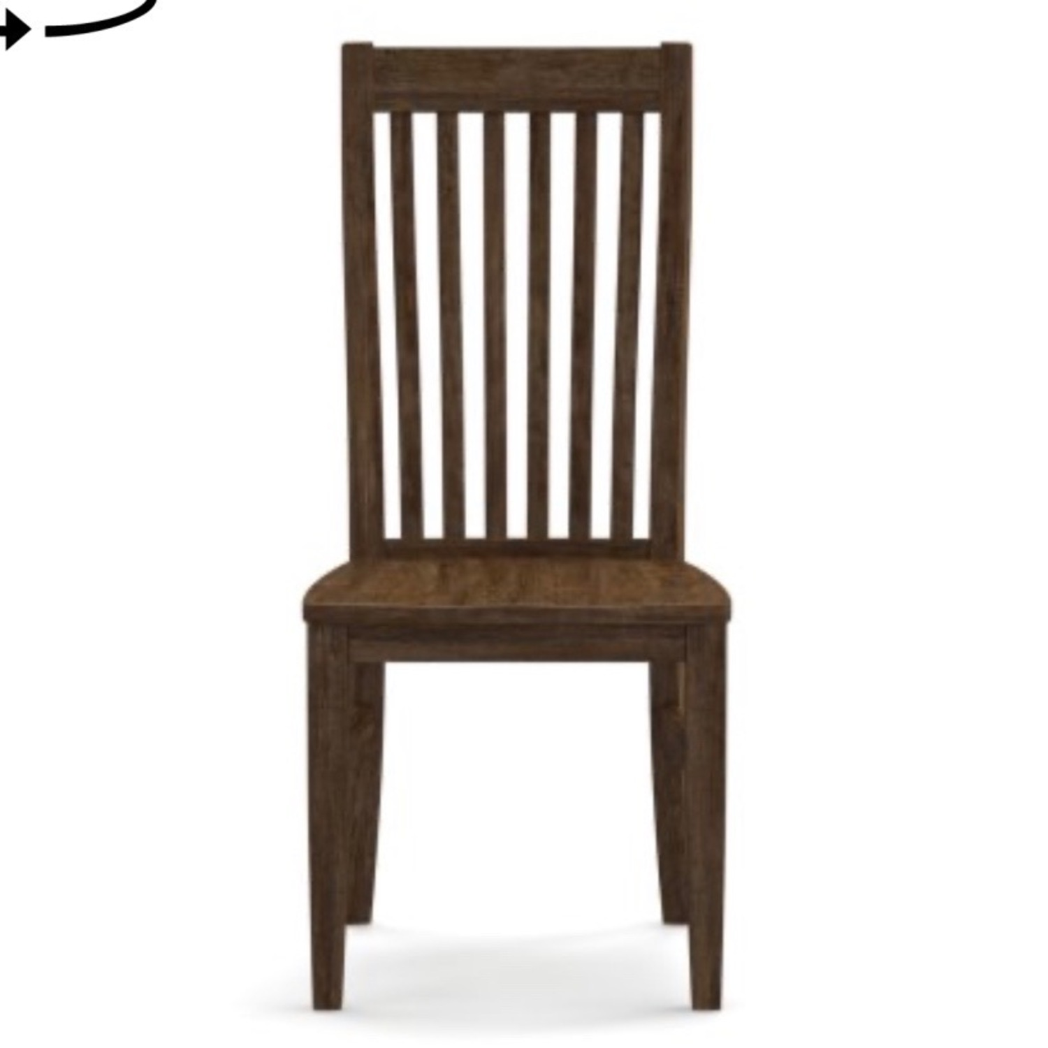 Pottery Barn Rustic Mahogany Trieste Chairs - image-4