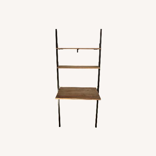 Used Pottery Barn Clarkson Ladder Desk Washed Mango for sale on AptDeco