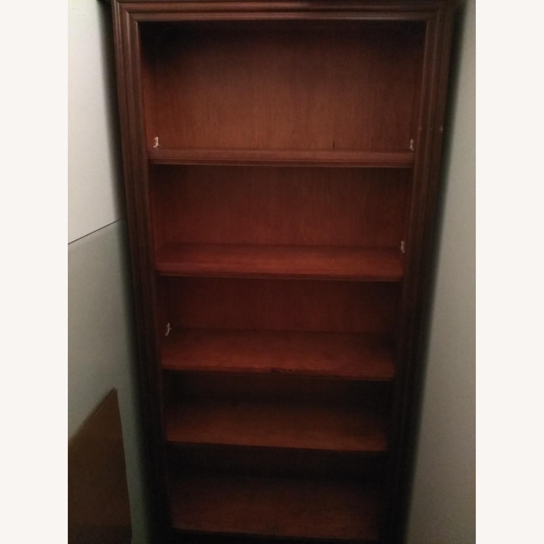 Solid Wooden 6 Shelf Bookshelf - image-1