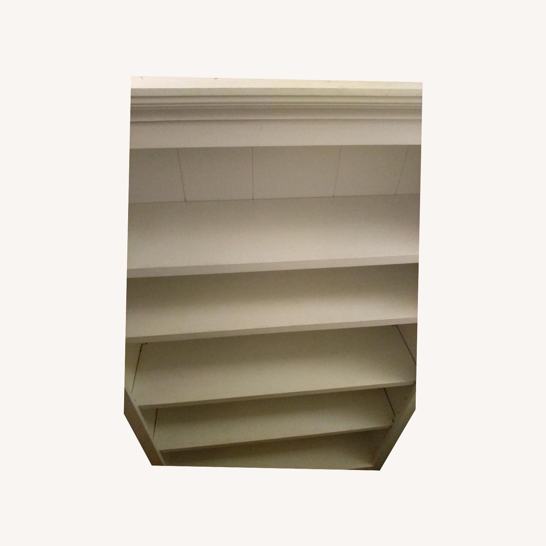 Classic White 5 Shelf Bookcase - image-0