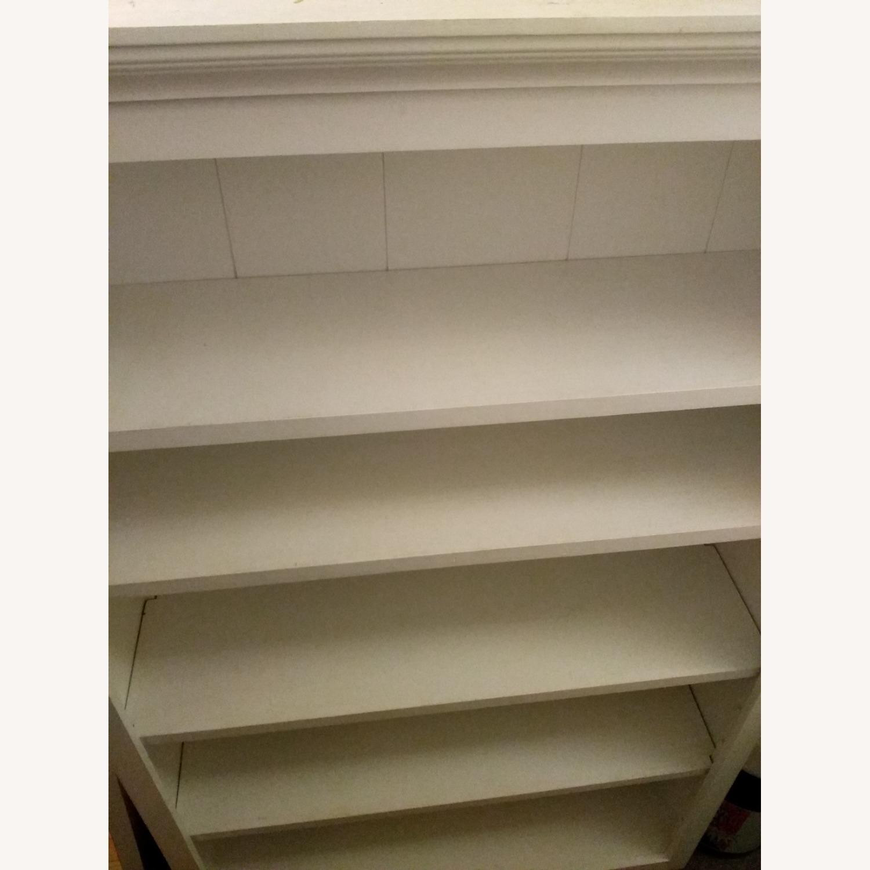 Classic White 5 Shelf Bookcase - image-1