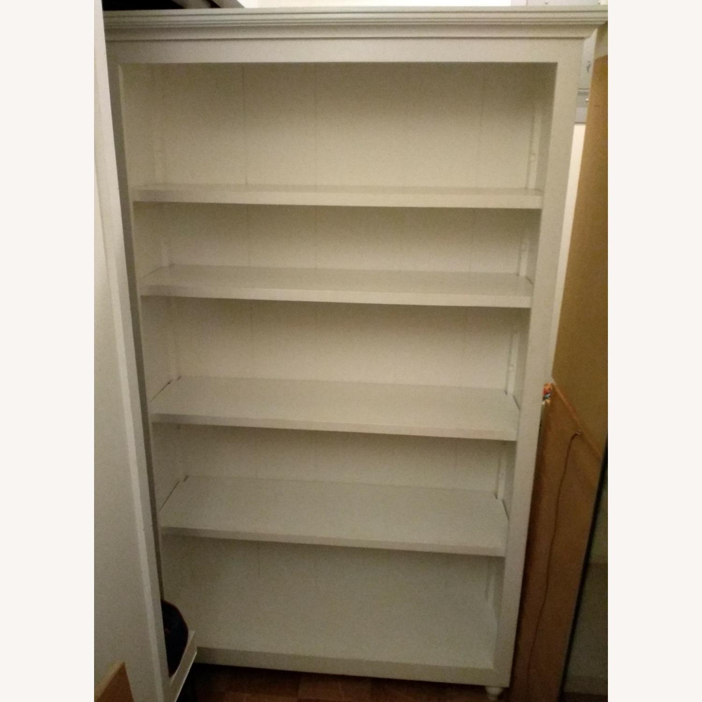 Classic White 5 Shelf Bookcase - image-11