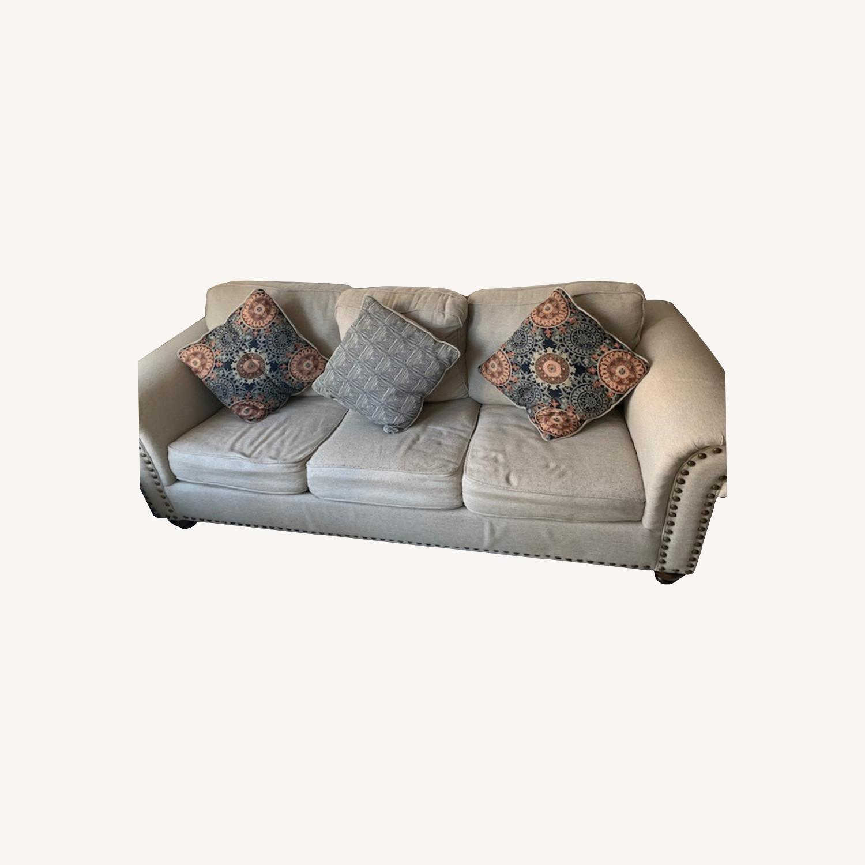 Raymour & Flanigan Corliss Queen Sleeper Sofa - image-0