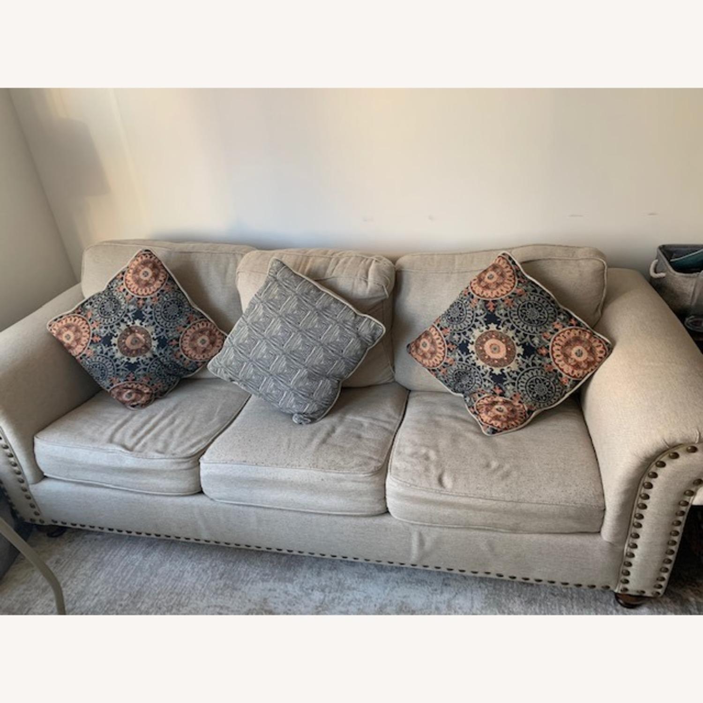 Raymour & Flanigan Corliss Queen Sleeper Sofa - image-1