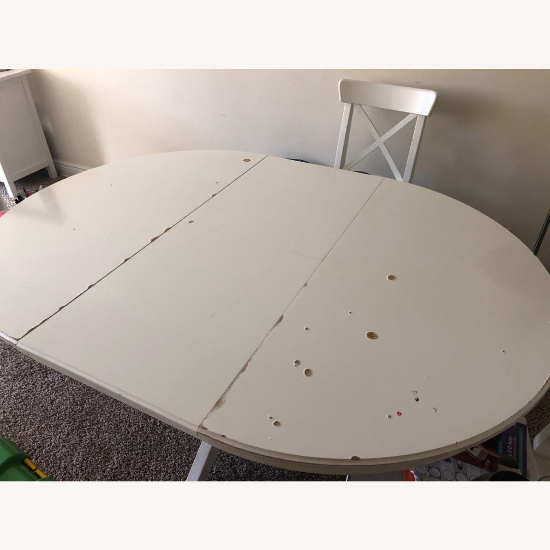 IKEA INGOLF INGATORP Dining set - image-0