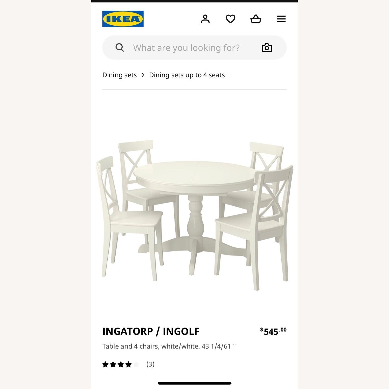 IKEA INGOLF INGATORP Dining set - image-9