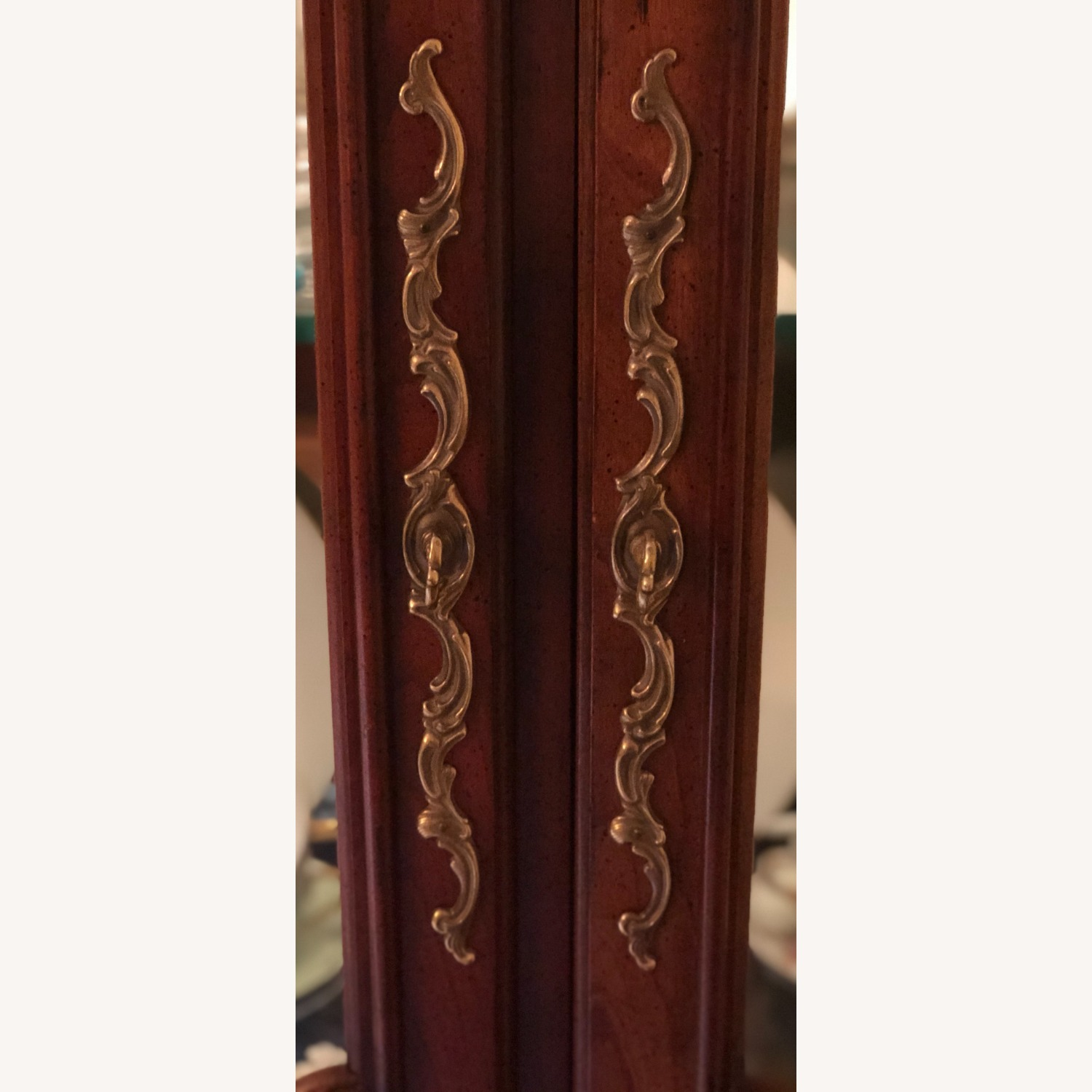 Pair of Vintage Carved Country French Cabinets - image-4