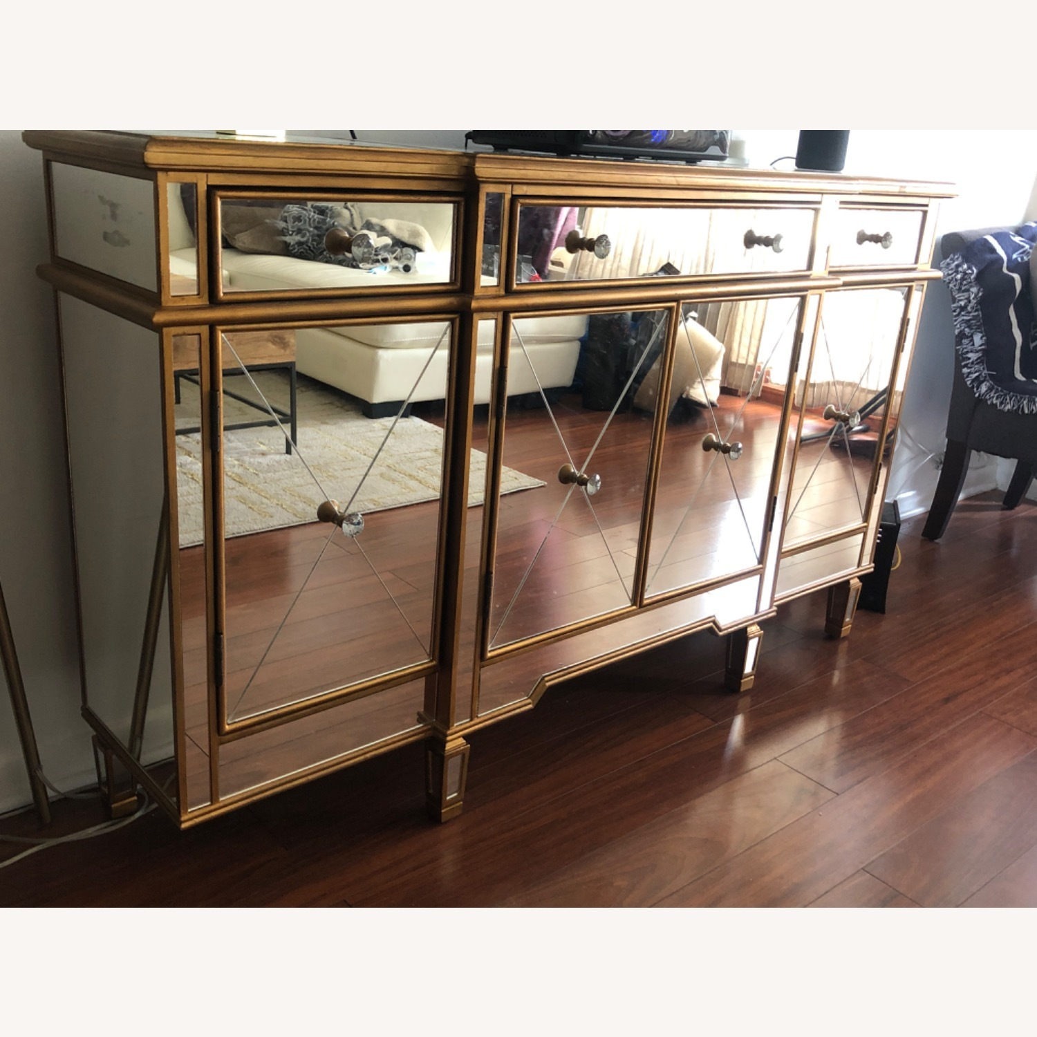 Mirrored Console Table - image-2