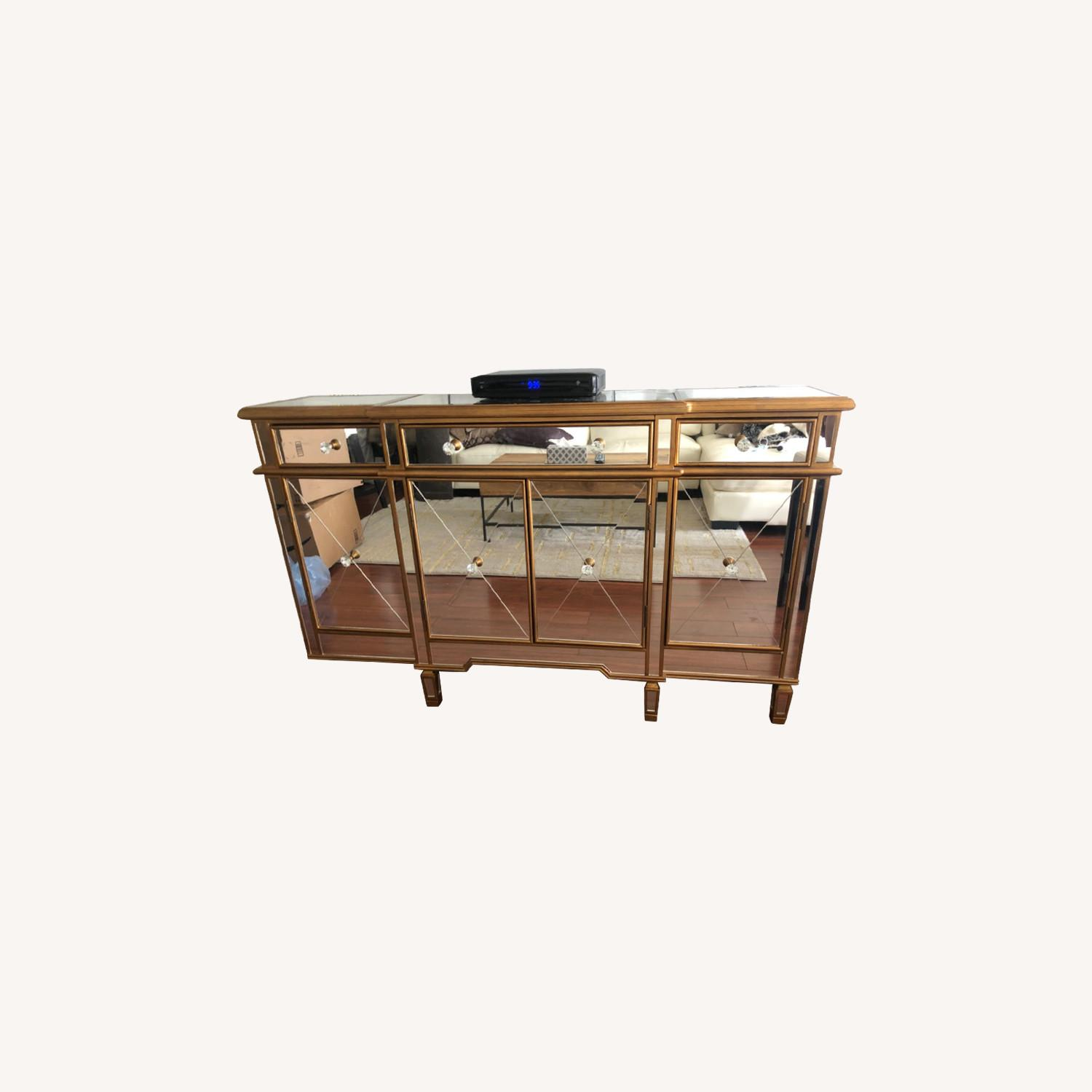 Mirrored Console Table - image-0