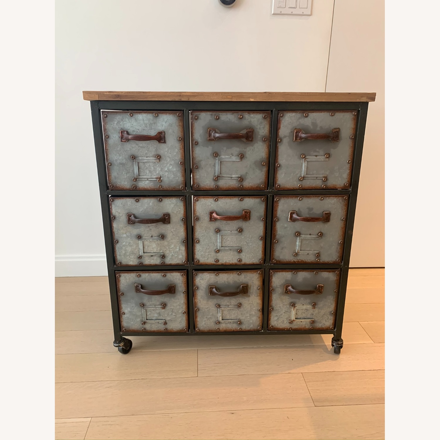 9 Drawer Apothecary Accent Chest - image-2
