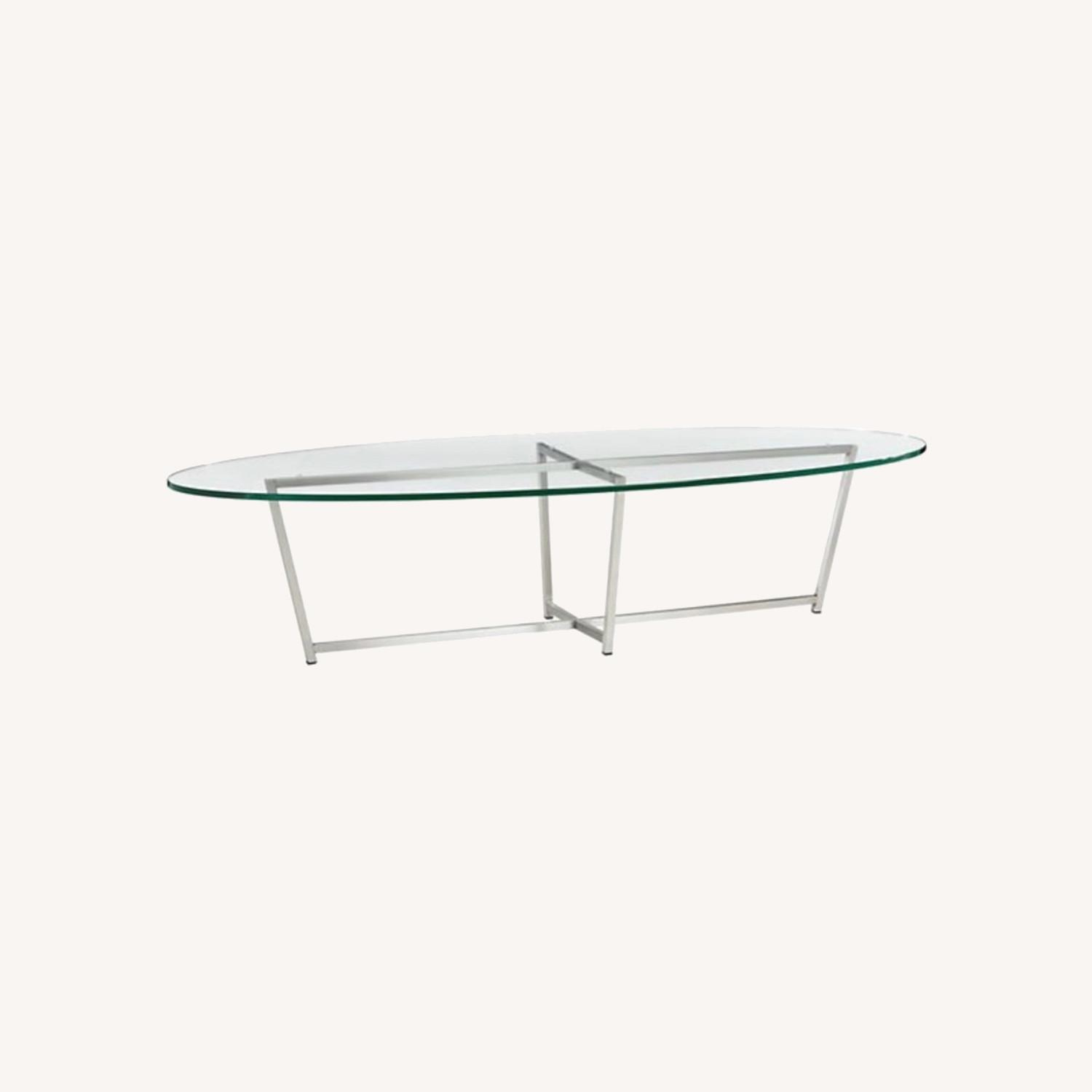 Room and Board Glass Soto Coffee Table - image-0
