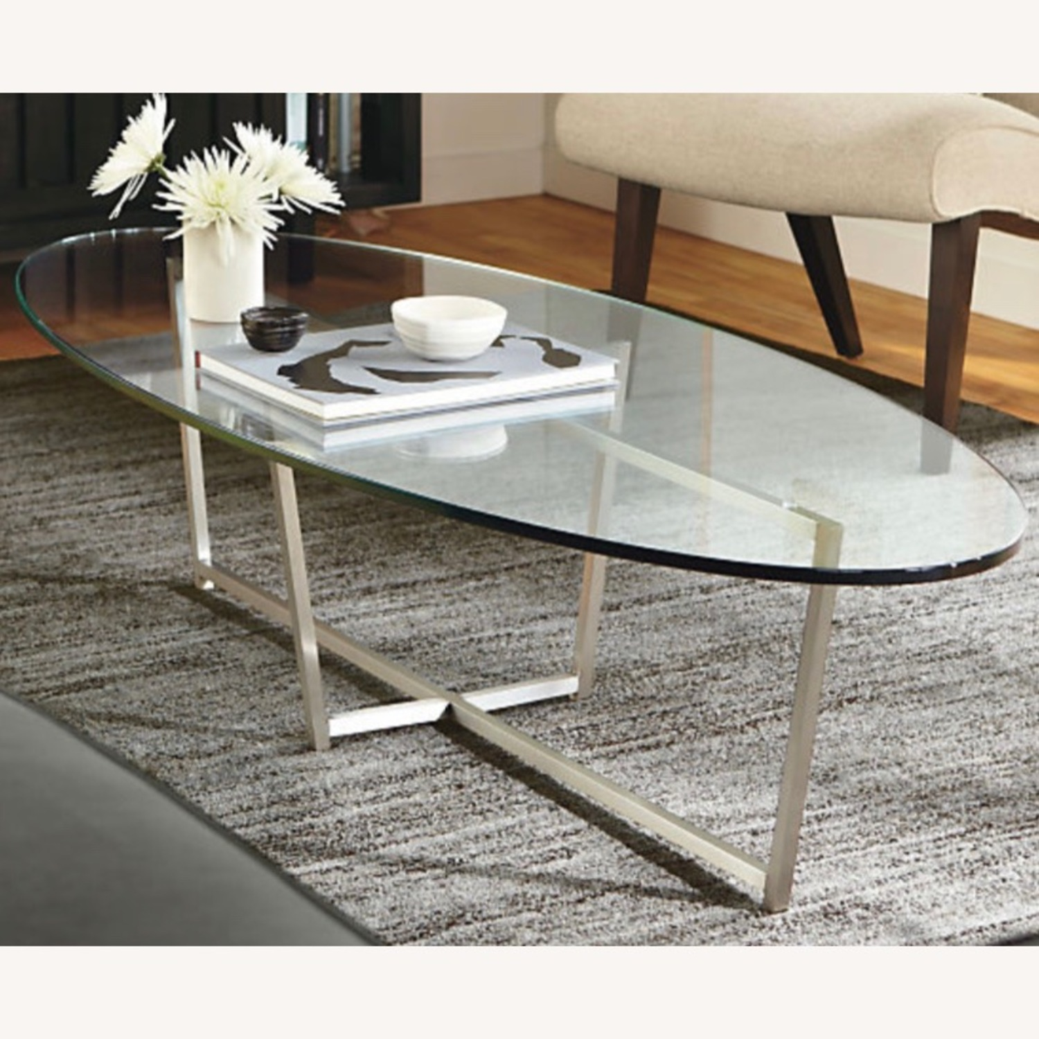 Room and Board Glass Soto Coffee Table - image-1