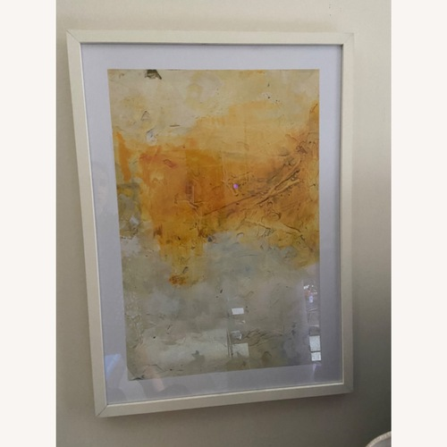 Used Abstract Art in Glass Frame for sale on AptDeco
