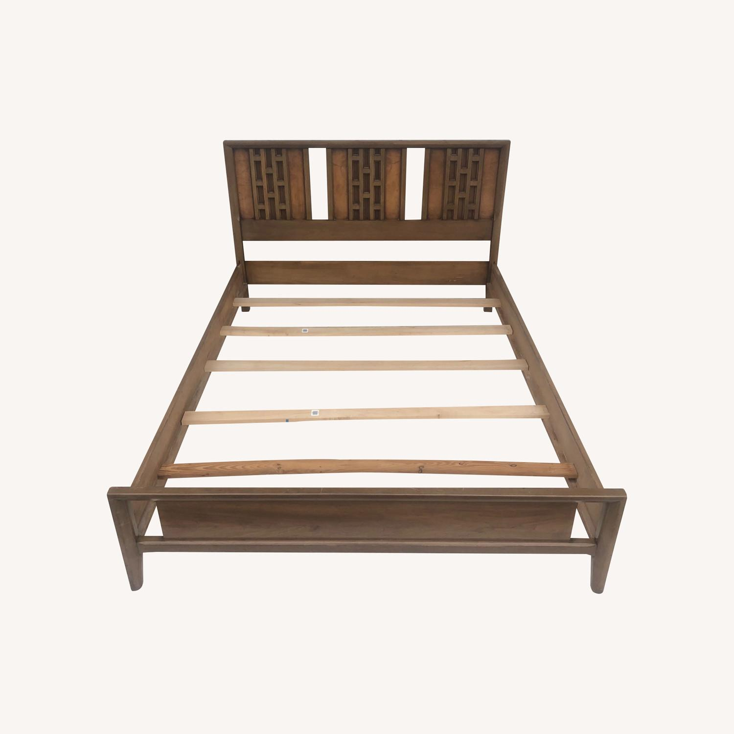 Mid-Century Modern Full Size Bed - image-0