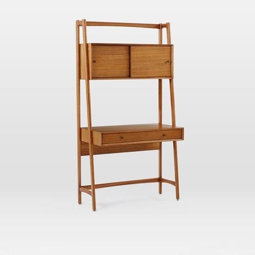 Used West Elm Mid-Century Wall Desk for sale on AptDeco