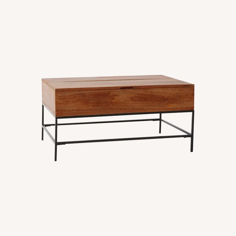 West Elm Storage Coffee Table - image-0