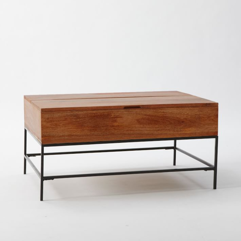West Elm Storage Coffee Table - image-1