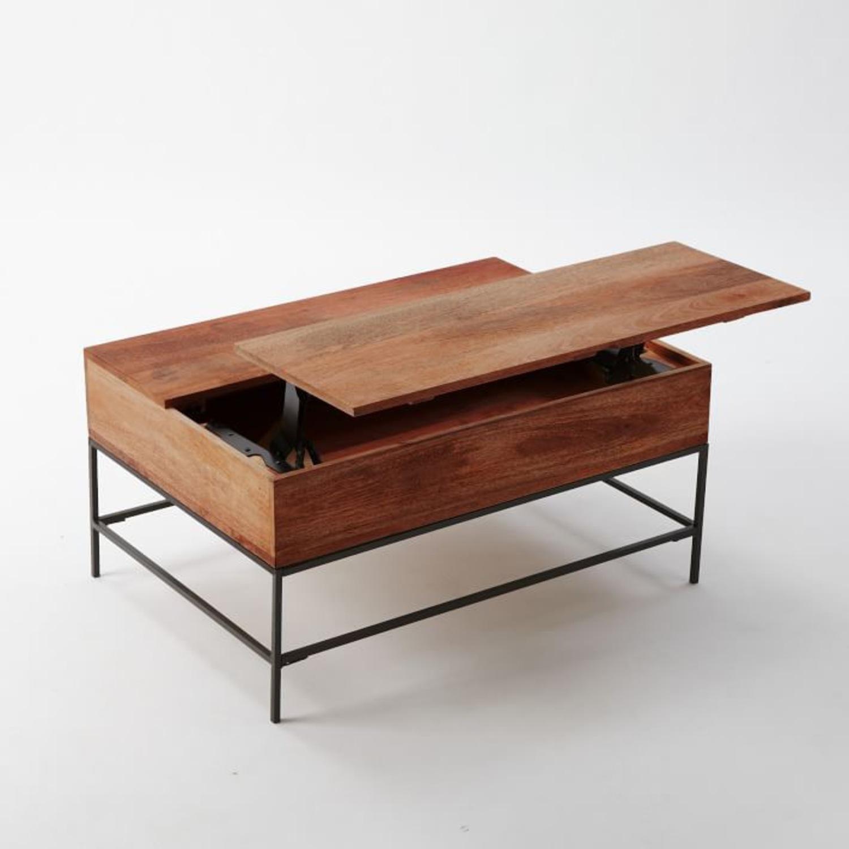 West Elm Storage Coffee Table - image-2