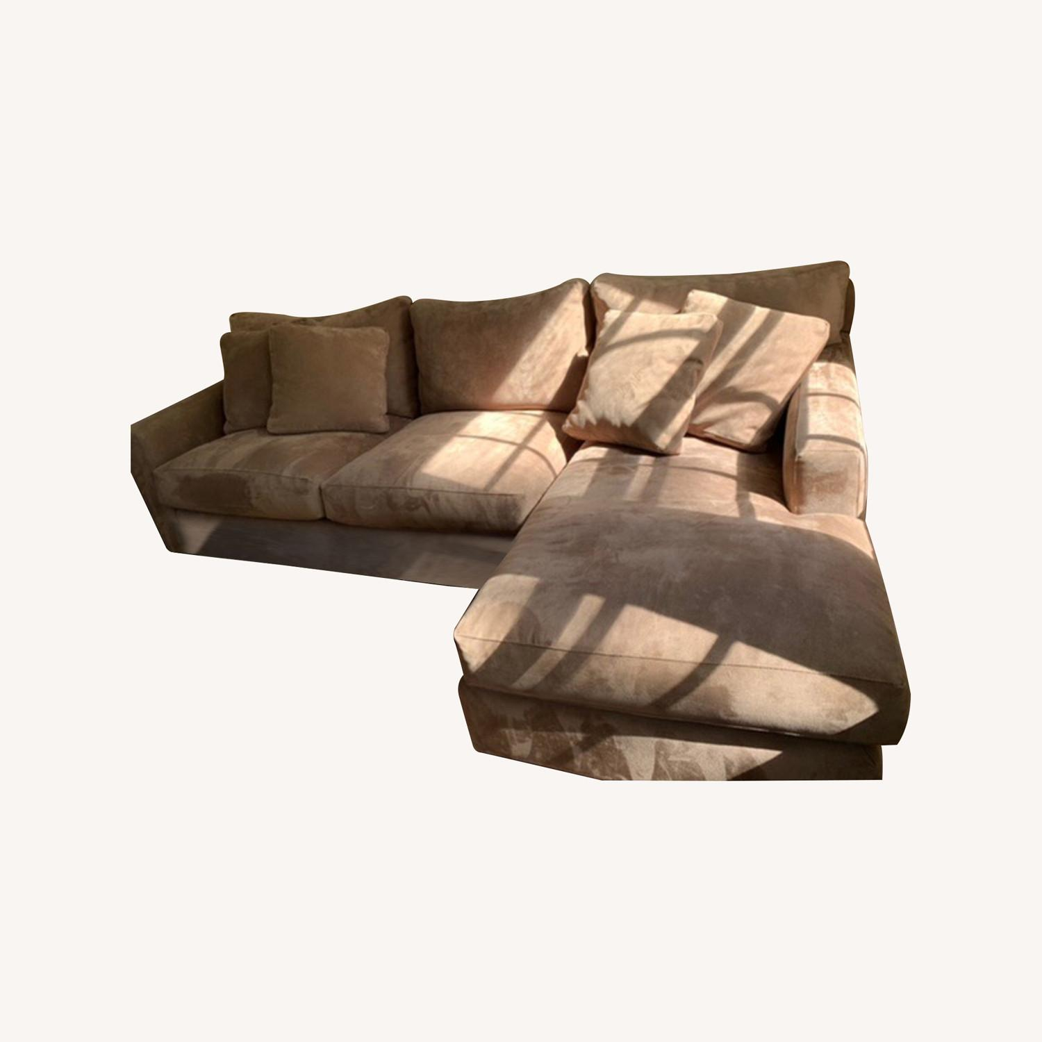 Crate and Barrel Axis Sectional - image-6