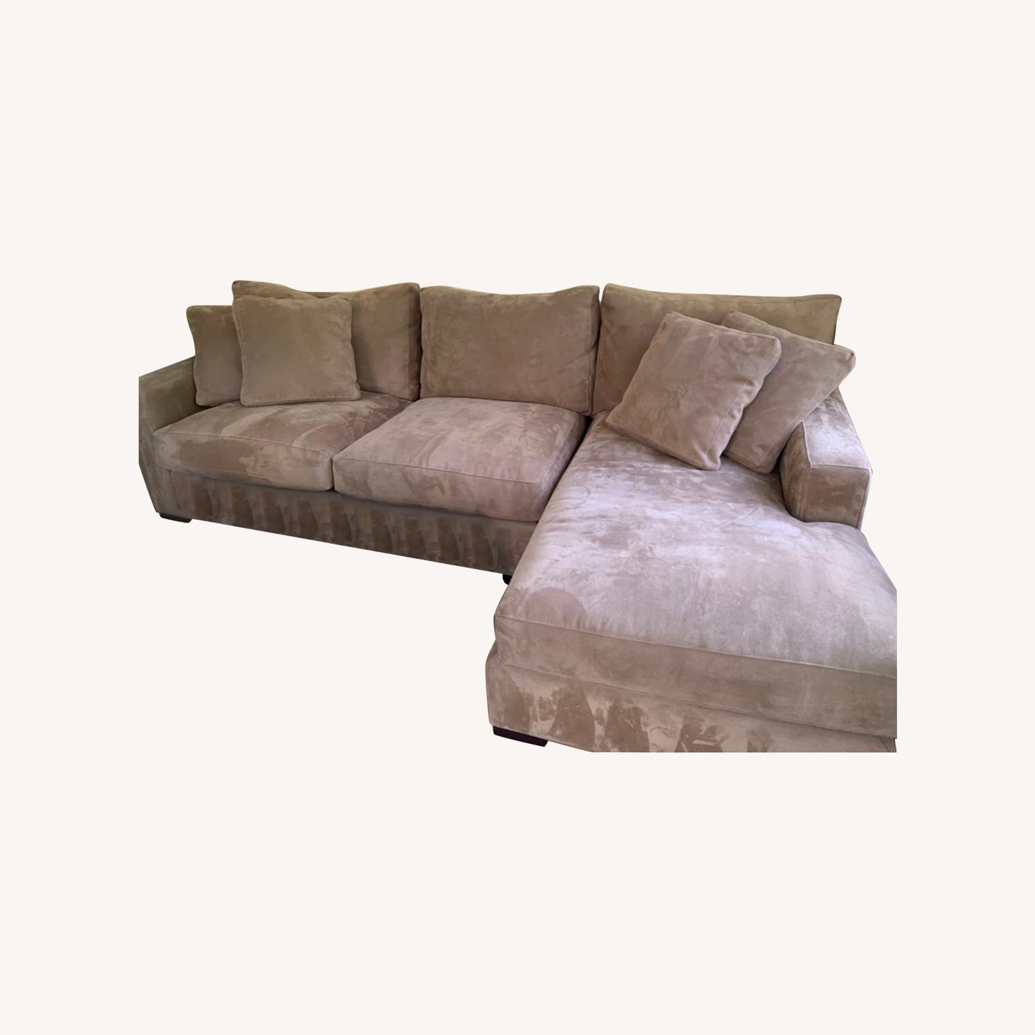 Crate and Barrel Axis Sectional - image-0
