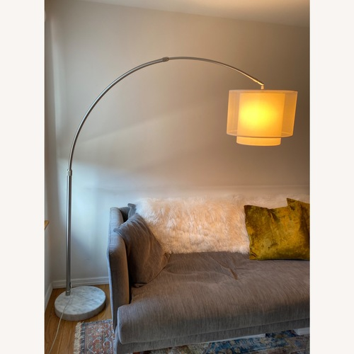 Used Safavieh Arched Floor Lamp for sale on AptDeco