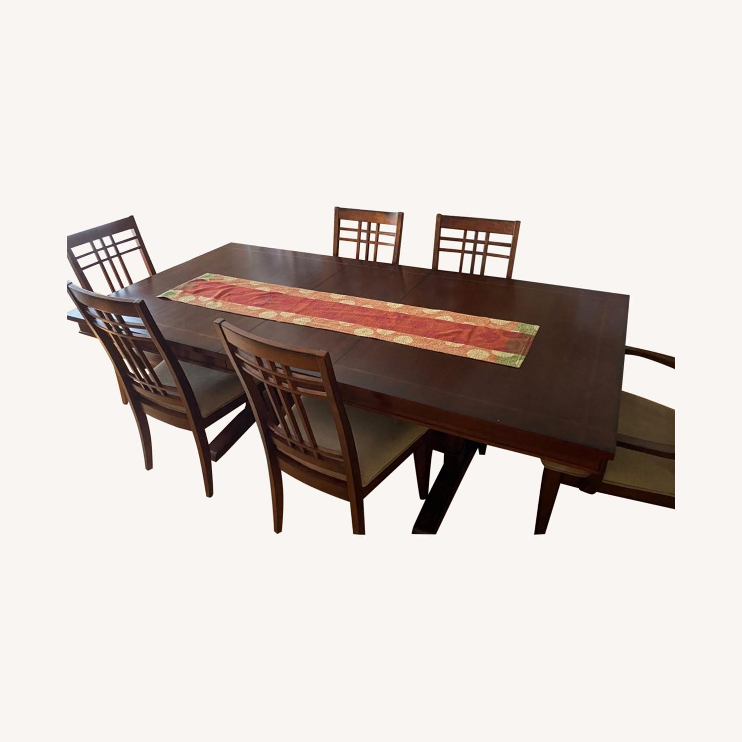 Macy's Dinner Table and Chairs - image-0