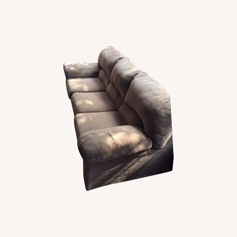 Ashley Furniture Pindall Brown Sofa - image-0