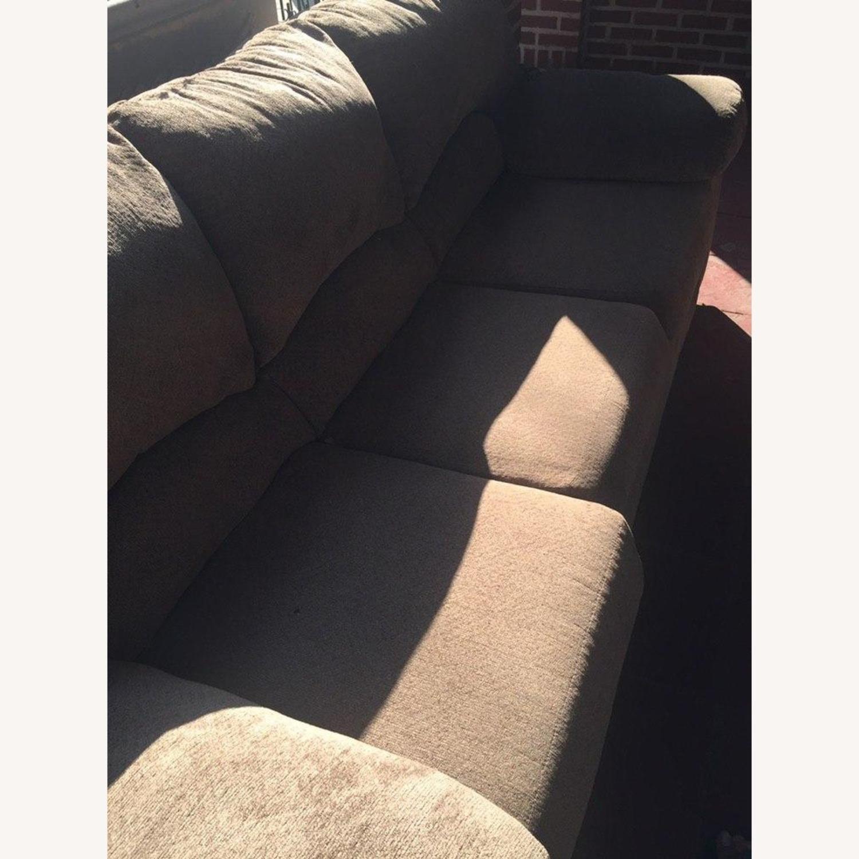 Ashley Furniture Pindall Brown Sofa - image-5