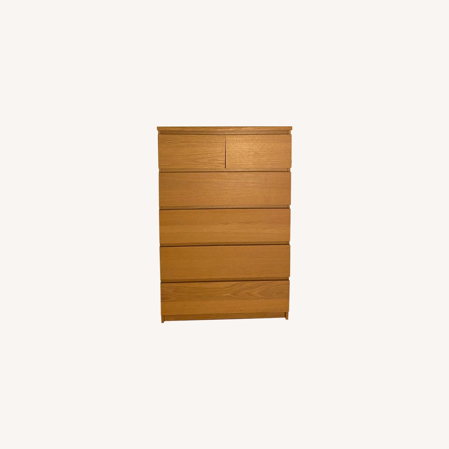 IKEA Malm 6 Drawer Chest - image-0