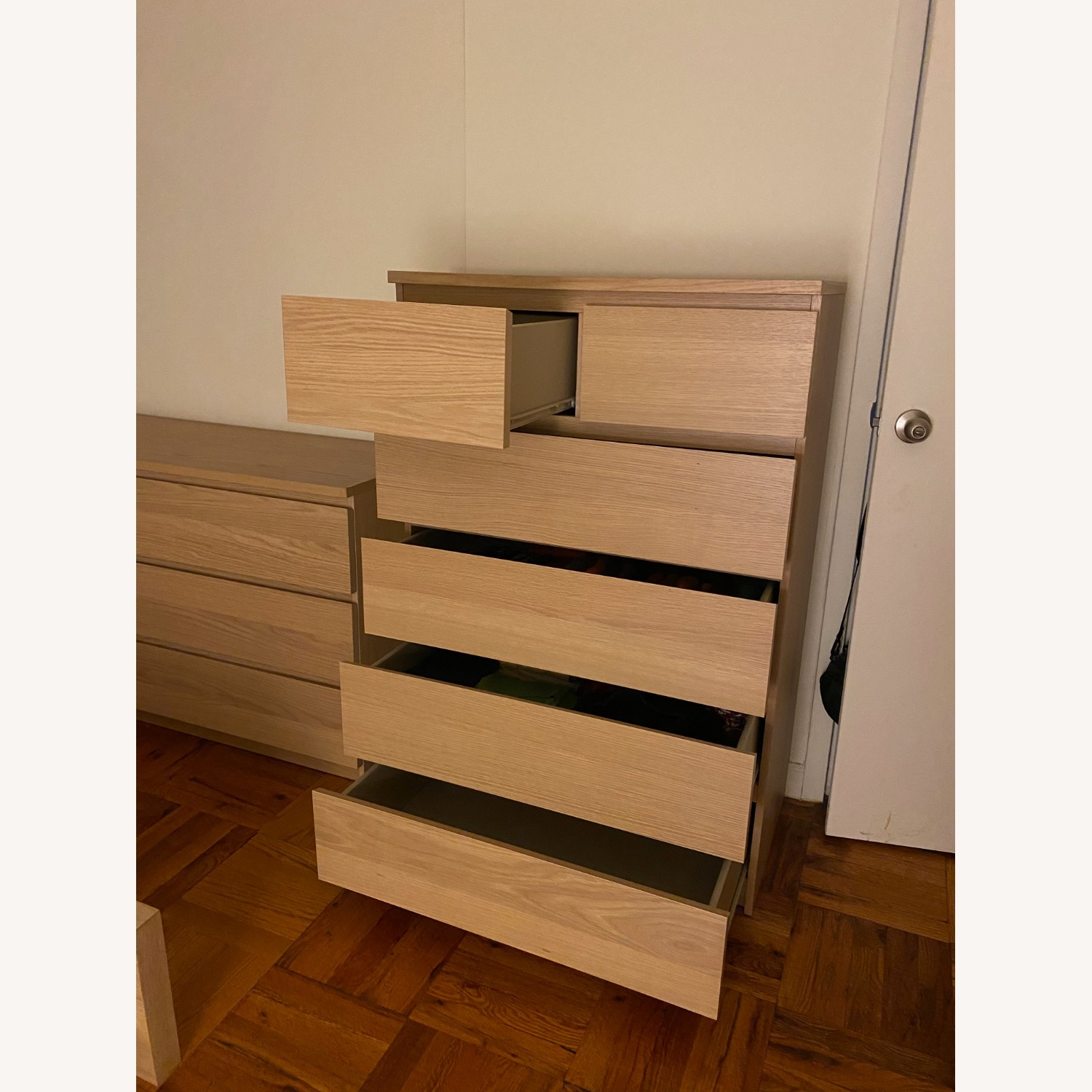 IKEA Malm 6 Drawer Chest - image-2
