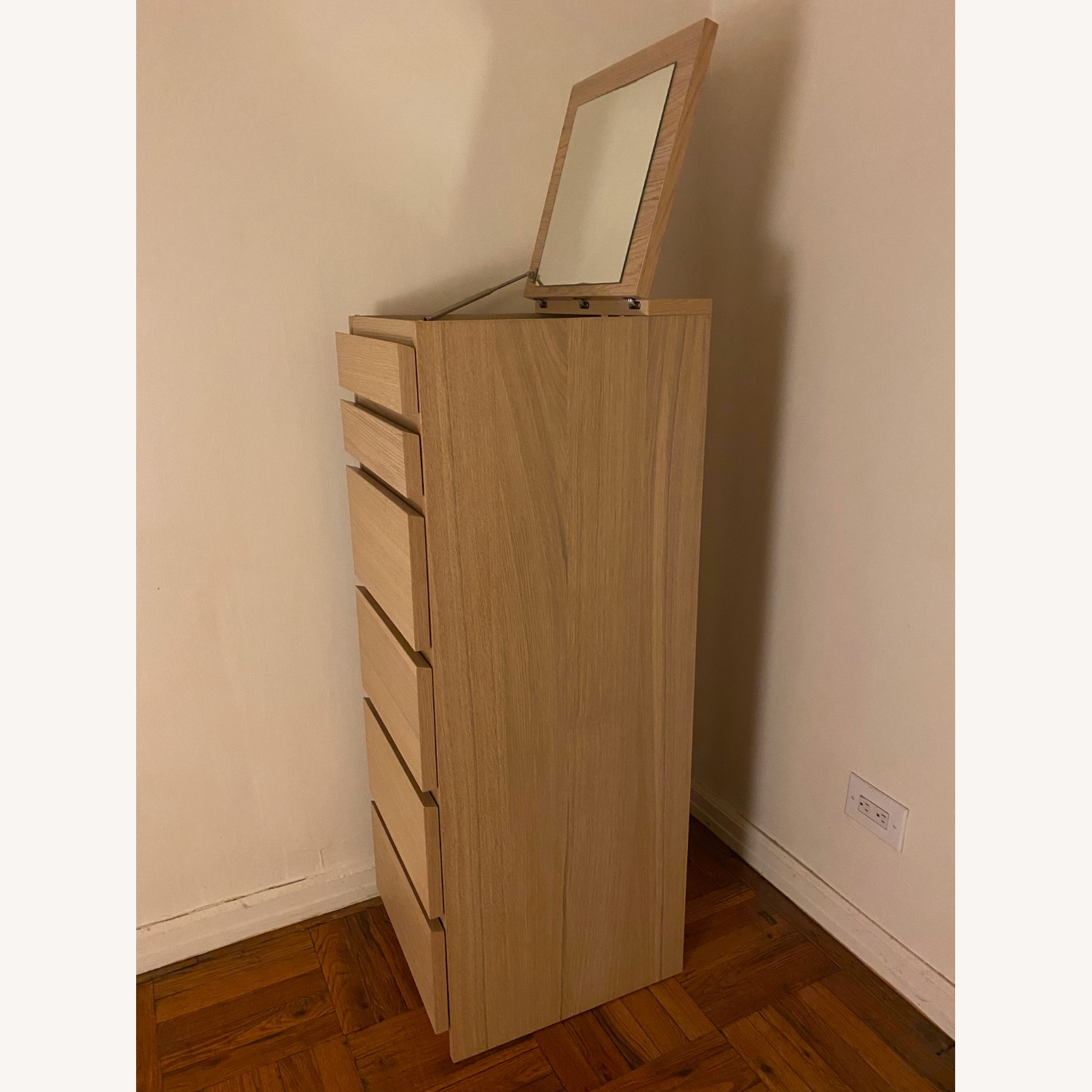 IKEA Malm 6 Drawer Chest - image-4